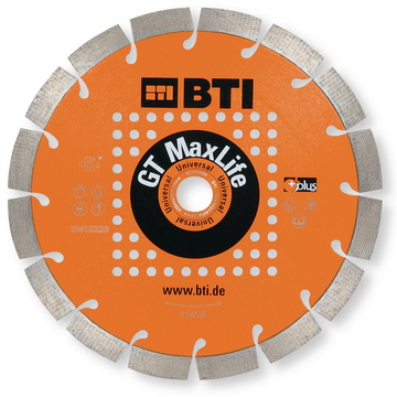 Disco Diamante GT MaxLife 230 mm